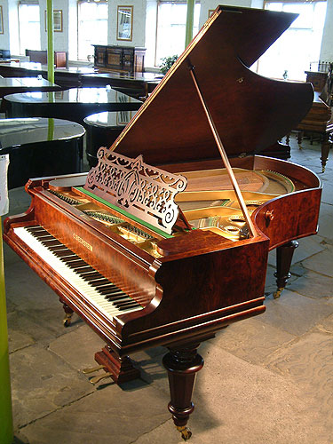 Antique Bechstein Model V Grand Piano for sale.