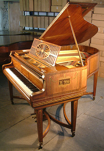 Art cased Schiedmayer Grand Piano for sale.