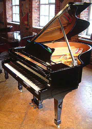 Besbrode Pianos is an  Official Steinway & Sons Appointed Dealer.Brand New Steinway Model O Grand Piano For Sale with a black case