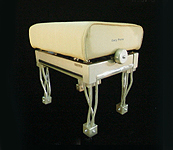 Gary Pons Concert, Adjustable, Aluminium Piano Stool with Fils Legs and  a  Velours Cover