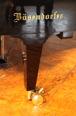 Bosendorfer Model 290 Imperial Grand Piano Leg  with Dual Casters