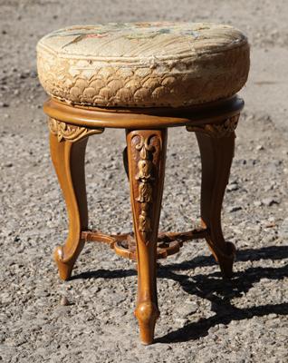 Matching piano stool