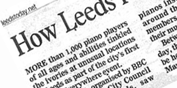 How Leeds resonated to the sound of more than 1,000 pianists