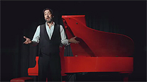 Closing The Leeds Piano Festival 2019, Alistair McGowan, impressionist, stand-up comedian, actor, writer and, latterly, pianist brought, for one night only, his inspirational show