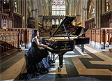 BBC News: York Minster piano concert to highlight plight of virus-hit musicians 22 October 2020. Image by Danny Lawson/PA Media