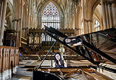 Express and Star News: Pianist to highlight musicians' plight with special York Minster concert Oct 22, 2020. Image by Danny Lawson/PA