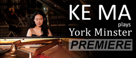 Ke Ma plays Yorkminster: a dazzling performance featuring Mozart, Debussy and Brahms. Ke Ma's performance aimed to highlight the importance of the arts to the human condition and the crisis facing musicians affected by the the coronavirus pandemic.  Performance premiered on 24/12/2020 at 19:00 GMT
