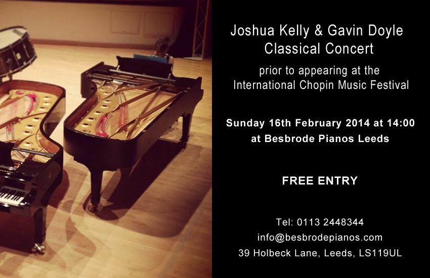 Joshua Kelly and Gavin Doyle Classical Concert