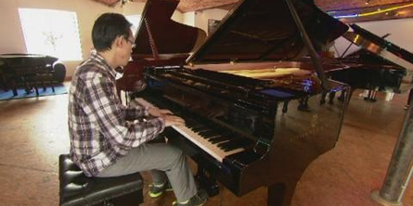 Piano-lovers' paradise in Leeds
