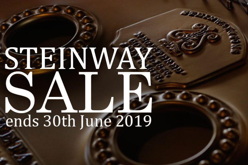 Besbrode Pianos First Ever Pre-owned Steinway Piano Sale 01-05-2019 to 30-06-2019. Buy a discounted Steinway piano for a limited time period only