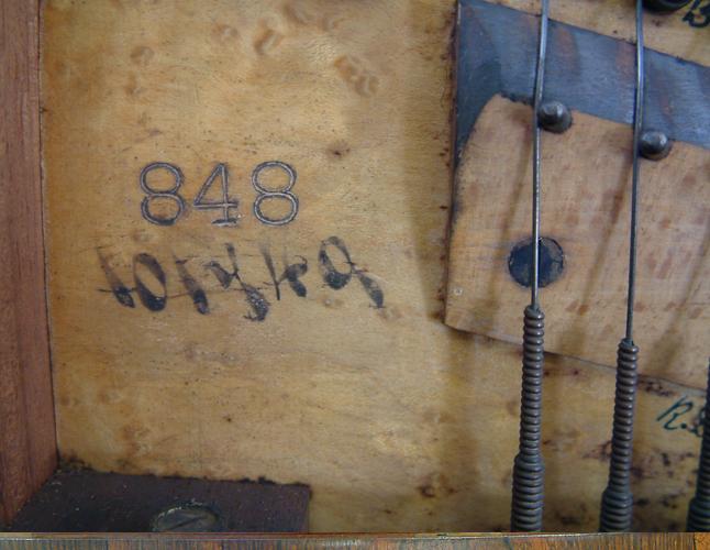 Collard & Collard piano serial number