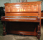 Inlaid Steinway Upright  Piano For Sale