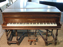 Artcase, John Broadwood and Sons 1910 grand piano with a shaker style case