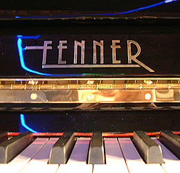 Fenner upright Piano for sale.