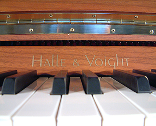 Halle & Voight upright Piano for sale.