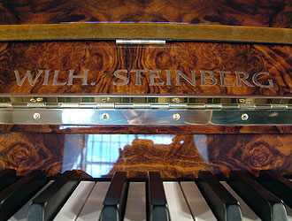 Wilh. Steinberg Grand Piano for sale. We are looking for Steinway pianos any age or condition.