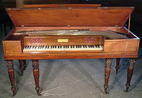 Antique Stoddart Square Piano For Sale