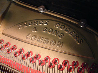 George Rogers Grand Piano for sale.