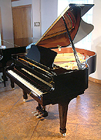 New Boston grand piano For Sale with a black case and polyester finish