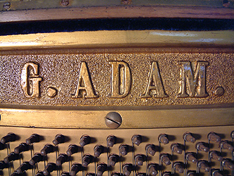 Gerhard Adams Upright Piano