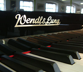 Wendl & Lung Grand Piano for sale.