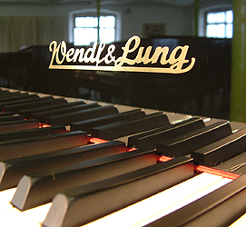 Wendl & Lung Model 178 Grand Piano for sale.