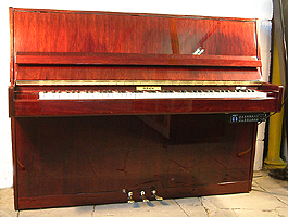 Modern Schaefer Upright Piano For Sale