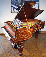 Decorative, Inlaid Steinway model A Grand Piano For Sale