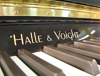Halle & Voight Model 108 Upright Piano for sale.