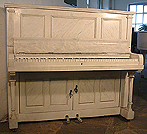 Piano for sale. An art cased Besbrode upright piano and drinks cabinet. Case painted with Italian marble effect. No instrument. Lights up and everything.
