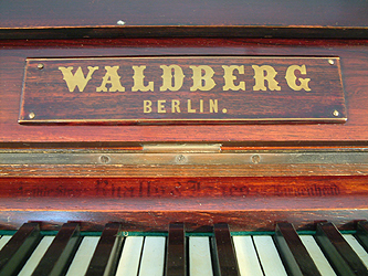 Waldberg Upright Piano for sale.