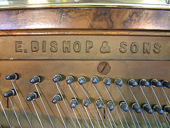 Bishop Upright Piano for sale.