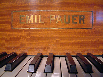 Emil Pauer Grand Piano for sale.