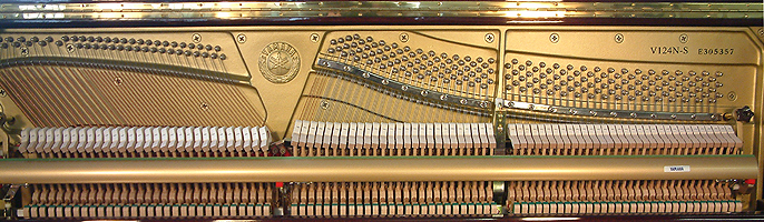 Yamaha V124N-S Upright Piano for sale.