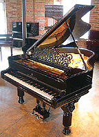Antique Steinway Grand Piano For Sale with a black case