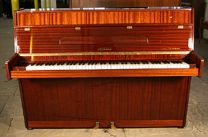 Modern Hupfeld Upright Piano For Sale