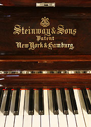 Antique, Steinway Upright Piano for sale.