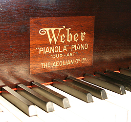 Weber Grand Pianola for sale.