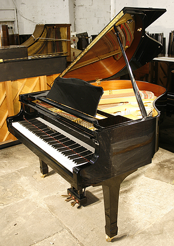 Black yamaha g1 grand piano for sale specialist steinway for Yamaha grand pianos for sale