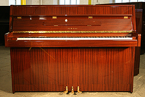 Modern Yamaha M1J upright piano For Sale