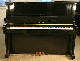 Modern Yamaha YUS Upright Piano For Sale