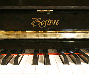 Boston UP118 PE  Upright Piano for sale.