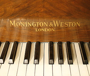 Monington and Weston  Grand Piano for sale. We are looking for Steinway pianos any age or condition.