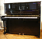 Black  Steinway  Model K Upright Piano For Sale