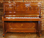 Ornate, Walnut  Steinway  Vertegrand Piano For Sale