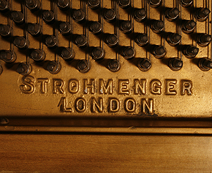 Strohmenger Grand Piano for sale. We are looking for Steinway pianos any age or condition.