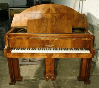 Art-deco Strohmenger baby grand Piano for sale.