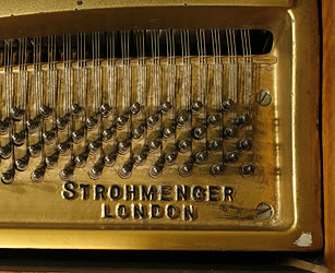 Art-deco Strohmenger baby grand Piano for sale. We are looking for Steinway pianos any age or condition.