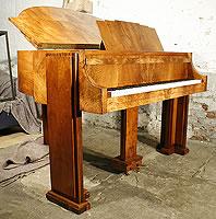 Artcase,  Walnut Strohmenger Baby Grand Piano For Sale