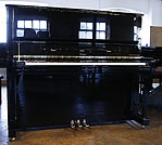 Piano for sale. A Brand new Boston 132 Performance Edition upright piano with a black case and polyester finish.  Designed by Steinway and Sons.